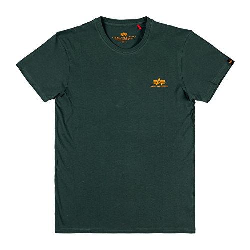 ALPHA INDUSTRIES Herren 188505353-dark-petrol-2 XL T-Shirt, Dark Petrol, XXL