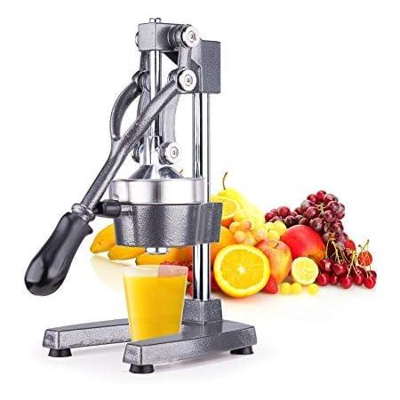 Orangenpresse Juicer Frucht Gemüse Zitruspresse Saftpresse Manuell Entsafter DHL