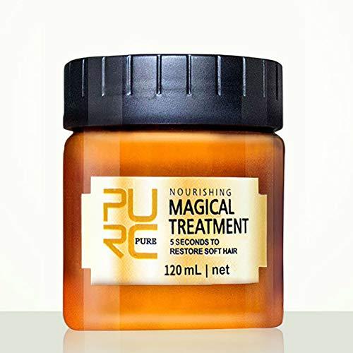 Kybbe 120ML Magic Deep Hair Crème Réparatrice Kératine Cheveux Traitement Du Cuir Chevelu Nutrition Doux Huile De Cuisson réparant