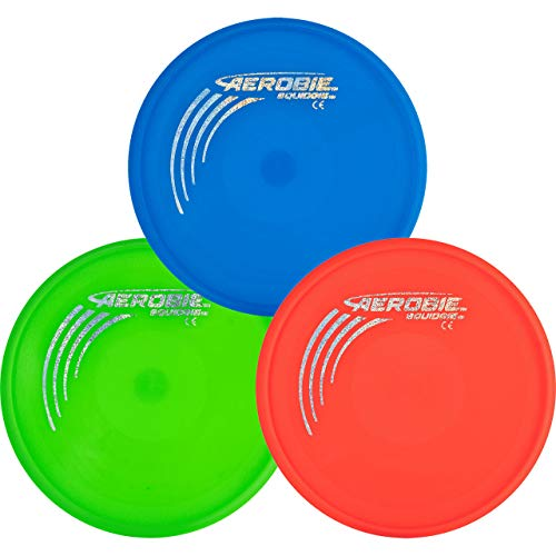 Aerobie Squidgie Flying Disc  3 Pack  Assorted Colors
