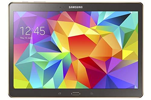 Samsung Galaxy Tab S 10.5-inch Tablet (Bronze) - (ARM Exynos 5 Octa-Core 1.9GHz, 3GB RAM, 16GB Storage, Wi-Fi, 3G, 4G LTE, Android 4.4) (Refurbished)