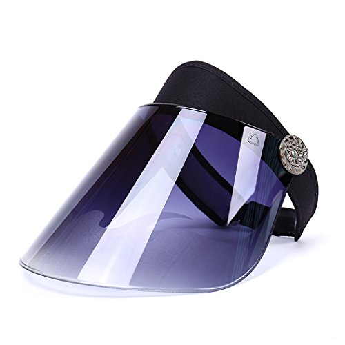 Unisexo de Verano Sombrero de Sol Que Viaja de Protección UV Visera Sombrero de Protección Facial Gorra