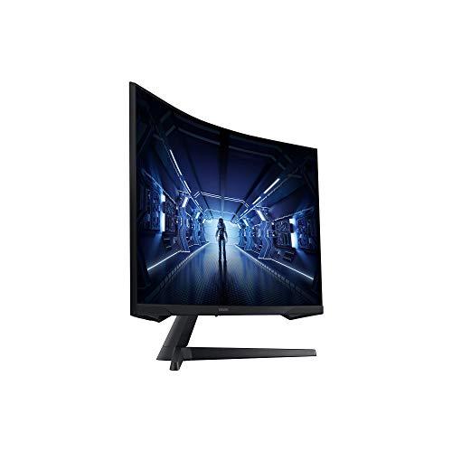 Samsung Odyssey C32G53T 32 Zoll 1000R Curved Gaming Monitor mit 2560x1440p Auflösung, 144hz Bildwiederholrate, 1ms Reaktionszeit - 15