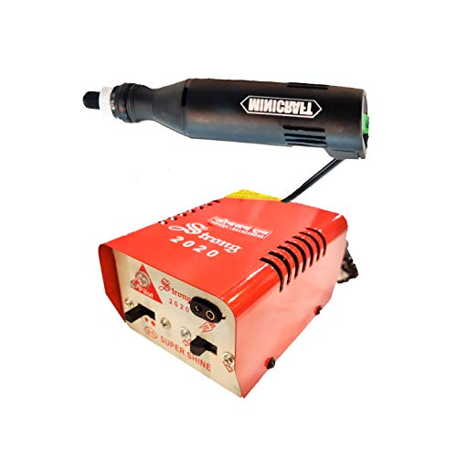 Johnson Tools Minicraft Machine/Mini Drill Machine With 12V Speed And Direction Control Stabilizer Elimeter Box.