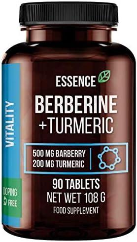 Essence Nutrition La berberina + cúrcuma - 90 lengüetas 141.999999999999 g