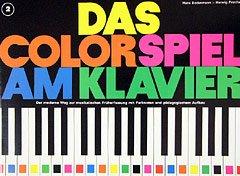 DAS COLORSPIEL 2 - arrangiert für Klavier [Noten / Sheetmusic] Komponist: BODENMANN HANS