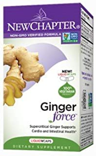 Ginger Force, 30 Veg Caps by New Chapter (Pack of 2)