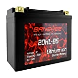 YTX20L-BS, Lithium Motorcycle Battery, YTX20L BS