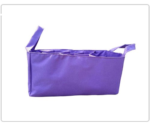 Baby Bottle Diaper Bag Organizer/Divider - Purple