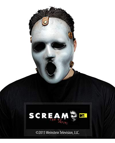 Horror-Shop Scream TV Serie Halbmaske für Halloween