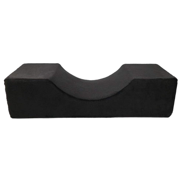 の配列脅威あいさつBlulux まつげ移植美容枕PUレザー防水まつげ枕移植まつげ枕(opp袋)