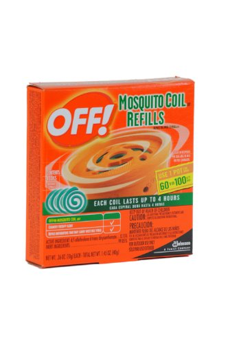 S C Johnson OFF Country Fresh Scent Mosquito Coil Refill, 6 refills (net wt. 2.118 oz )