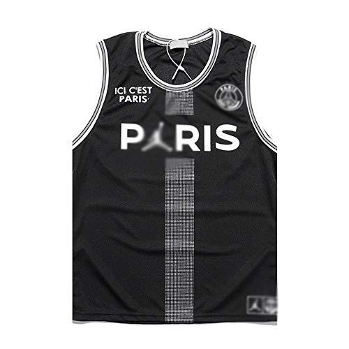 Michael Jordan # 23, Camiseta De Baloncesto NBA para Hombre, Retro Jersey Swingman Basketball Camisetas, Chaleco De Gimnasia Top Deportivo Ropa, S-XXL, Z286MK (Color : Black, Size : XL)