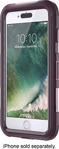 Griffin Survivor Extreme for iPhone 7 Plus, Wine/Clear - Maximum Drop Protection and rain-Proof case for iPhone 7 Plus