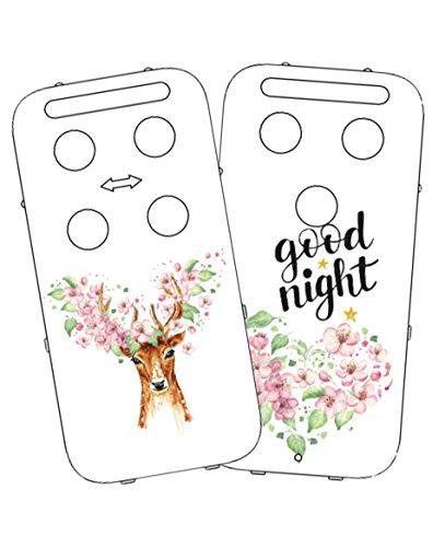 Vital Innovations 328288 _ Flower capidi Cache pour babyphone, blanc