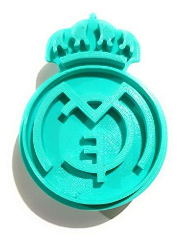 Molde y Cortador de Galletas de Deporte - Real Madrid Club de Fútbol (Turquesa)
