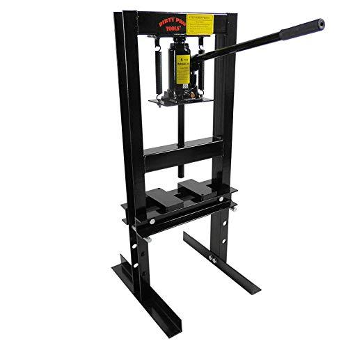 Très résistante 6 tonnes Boutique Presse hydraulique d'atelier ou de Garage sur pied Tonne