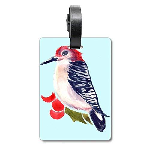 Etiqueta de identificación para Maleta de Crucero con diseño de Animales de Aves