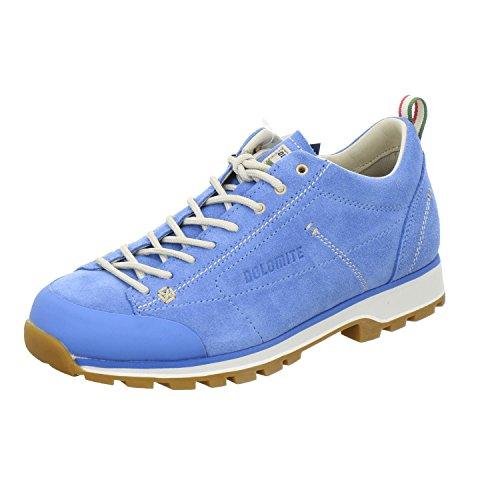 Dolomite Zapato Cinquantaquattro Low W, Botas de montañismo Unisex Adulto, Turquoise Canapa Beige, 38 EU