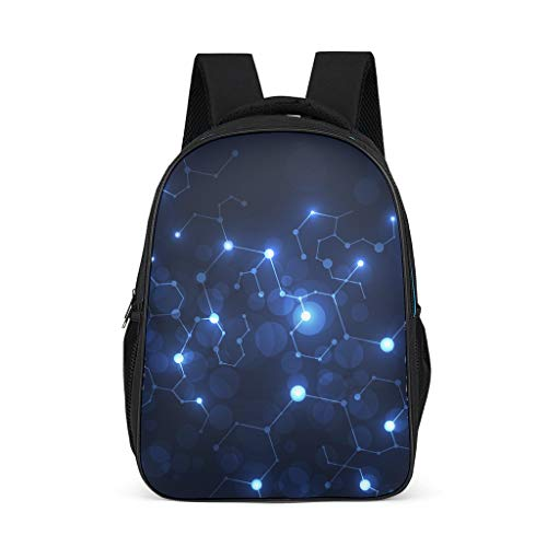 Planisphere Children's School Bags Elementary All Over Print for Youth starry sky grey onesize