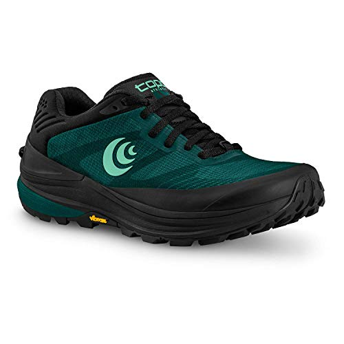 Topo Athletic Women's Ultraventure Pro, Trail Running Shoes Teal/Mint, 8