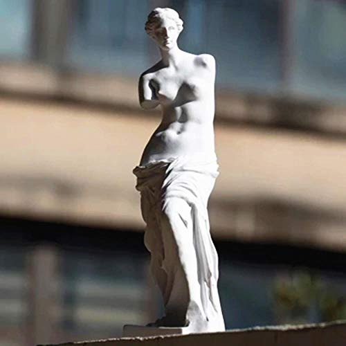 Artesanía Regalo 29 Cm Desnudo Venus De Milo Afrodita Diosa Estatua Helenística Réplica Reproducción Estatua Estatua De Yeso Esbozo De Yeso, Blanco