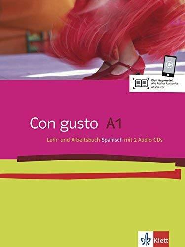 Con gusto A1. Lehr- und Arbeitsbuch. Mit 2 Audio-CDs von Lloret Ivorra. Eva M. (2009) Broschiert
