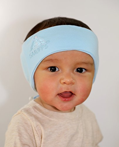 Baby Hearing Protection Headware (Large, Blue)
