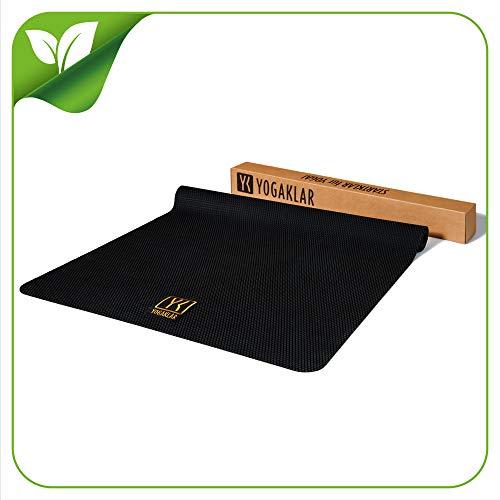 Premium Reise-Yogamatte aus Naturkautschuk – rutschfest, robust, reißfest, pflegeleicht und umweltfreundlich - STARKLAR für Yoga!