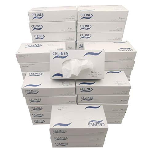 Pañuelos faciales Tissues Calidad Extra Suave- 48 cajas - (4800 pañuelos)