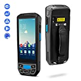Android 7.0 Rugged Handheld POS Terminal with NFC 13.56MHz, Honeywell 1D Laser Barcode Scanner with Touch Screen Data Collector Support Bluetooth WiFi GPS 4G for Shipping, Warehouse Management