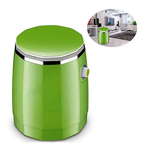 Bewinch Machine à Laver, Camping Machine à Laver, Mini Semi-Automatique de Lavage Machine Déshydratation Ménage Dortoir Simple Barrel Washer Prevent Winding Vague Roue de Lavage,Vert