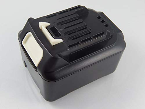vhbw Battery compatible with Makita JV102DWAE, JV102DWYE, JV102DY1J, JV102DZ, JV102DZJ, JV103 Electric Power Tools (5000mAh Li-Ion 12V)