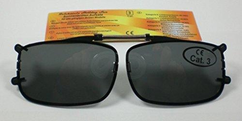 NN Sonnenbrillenaufsatz Sonnenbrillen-Clip Sehbrillen-Aufsatz Sonnenbrille