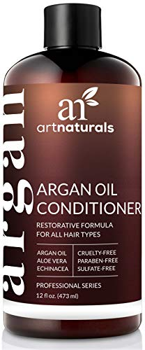 ArtNaturals Argan Oil Hair Conditioner - (12 Fl Oz / 355ml) - Sulfate Free - Treatment for Damaged and Dry Hair - For All Hair Types - Safe for Color Treated Hair