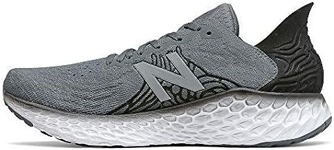 New Balance Men's Fresh Foam 1080 V10 Running Shoe, Lead/Black, 11