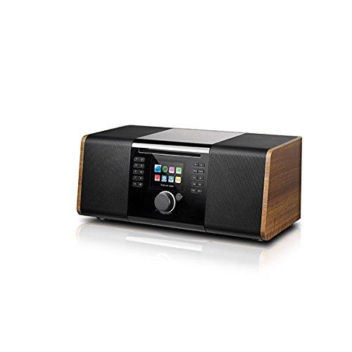 Palona JOJO DAB+/FM 2.1-Soundsystem WLAN BT USB Aux-In Fernbedienung Walnuß