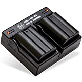 BM Premium 2 Pack of EN-EL15B Batteries and Dual Battery Charger for Nikon...