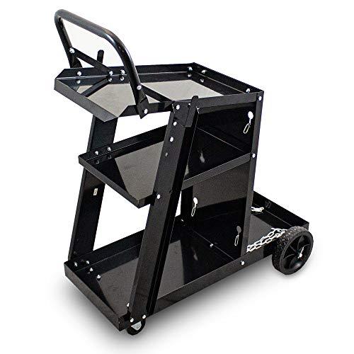 BITUXX® Mobiler Schweißwagen Schweißgerätewagen Werkstattwagen Flaschenwagen Gasflaschenwagen