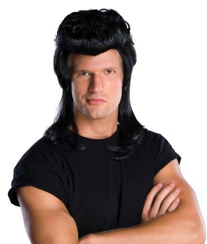 Rubie's Pompadour Wig, Black, One Size