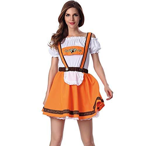 2 Stück Frau Gurt Rock Oben Passen Bayerisch Oktoberfest Kostüme Bardame Dirndl