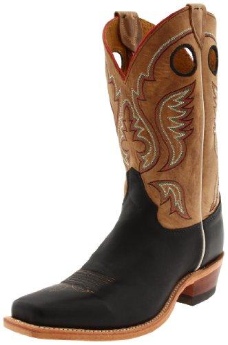 Justin Boots Men's Bent Rai Medium Square-toel Boot black Size: W