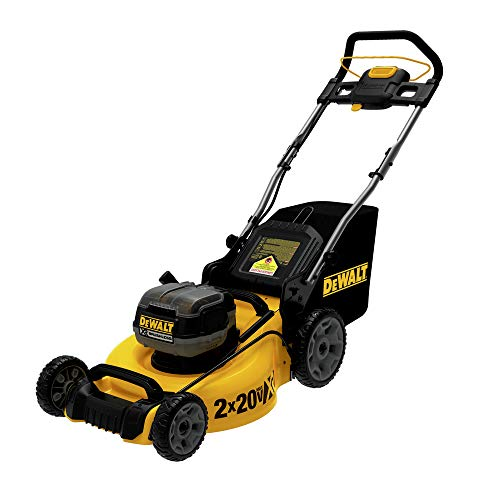 DEWALT DCMW220X2 Lawn Mower, Yellow/Black