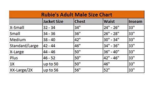 Rubie's- v per Vendetta Costume per Adulti, unica, IT888238-STD