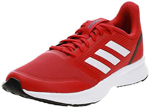 Adidas Nova Flow, Zapatillas Running Hombre, Rojo (Scarlet/FTWR White/Core Black)