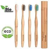 Cepillos de dientes de Bambú, Ecológicos, 100% Orgánicos,...