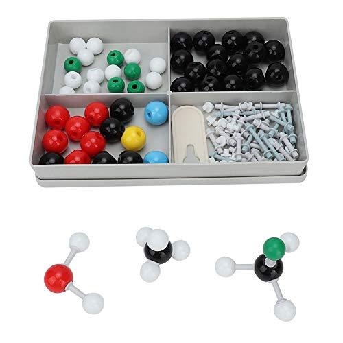 122Pcs Molecular Model Kit Molecular Organic Inorganic Structure Chemistry Model Kit Atom Link Model Set for Student Teacher