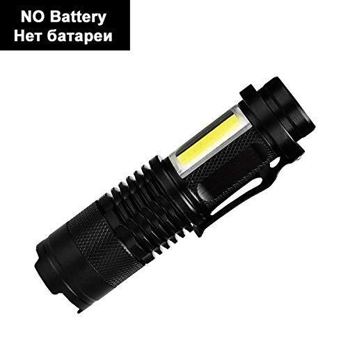 LED Flashlight Super Bright Waterproof Handheld Tactical Flashlights Pocket Keychain Work Light for Emergency NO Battery,Option D,Russian Federation
