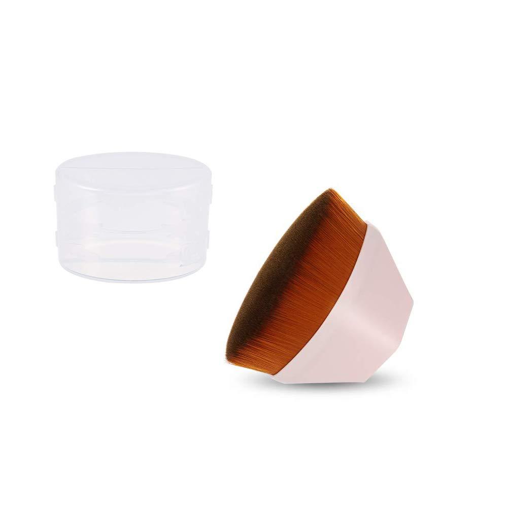 Novsix Foundation Makeup Brush Direct store Light Petal-Shaped Pink safety Portable