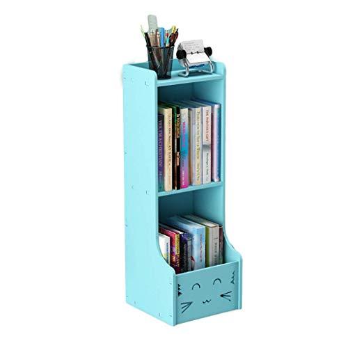 Estantes para CD y DVD Estante para libros para niños Estante para almacenamiento de CD, sala de estar de pie que ahorra espacio Soporte para libros de imágenes para niños, Estante para discos de CD S